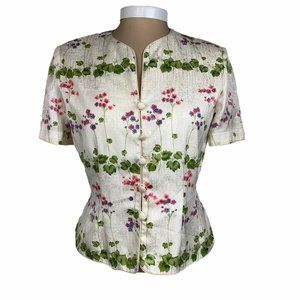 Vintage Silk by Adrianna Papell Short Sleeve 8P